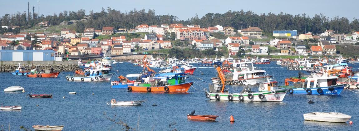 Illa de Arousa puertos