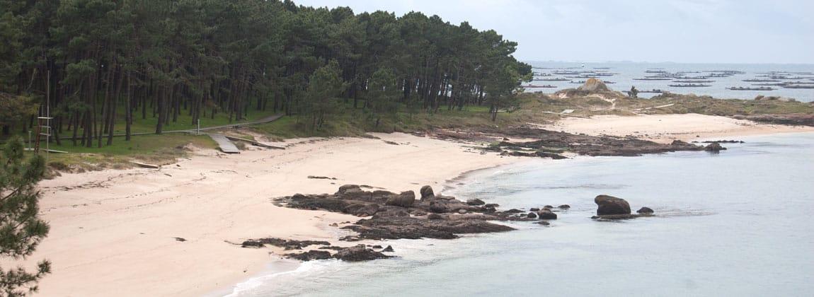 Playas cerca Pontevedra