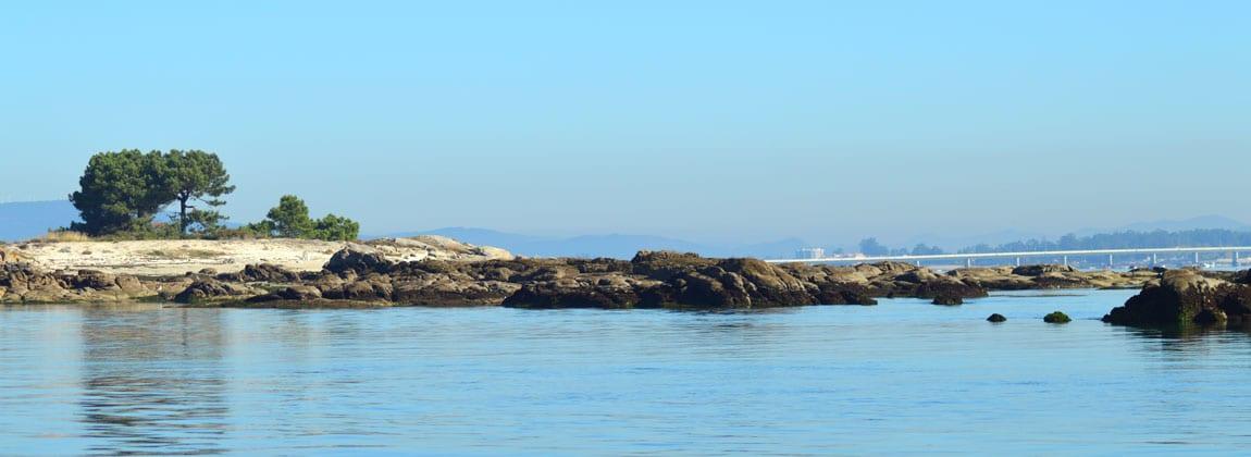 Illa de Arousa parque natural