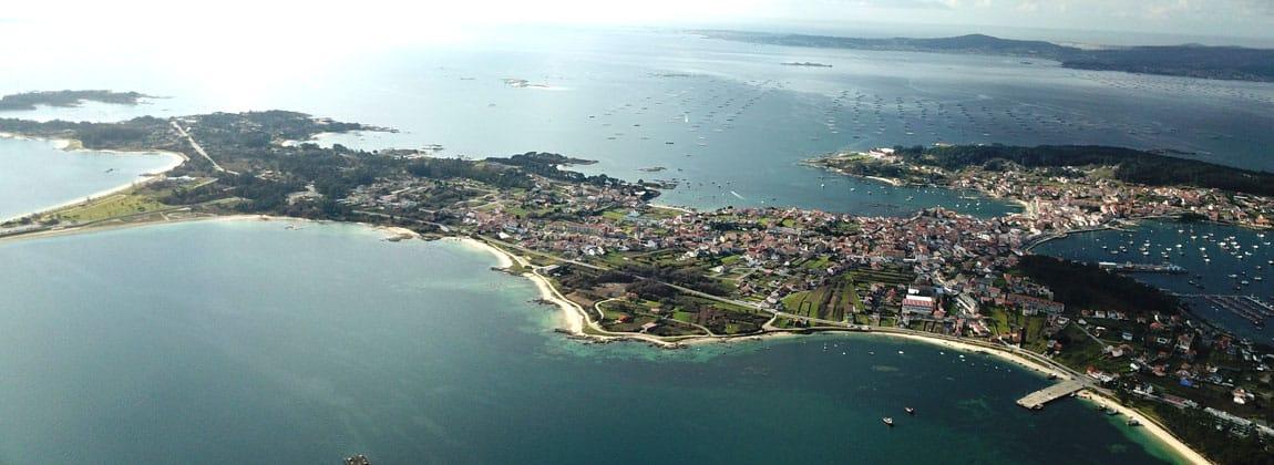 Illa de Arousa turismo