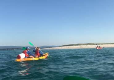 Areoso en kayak