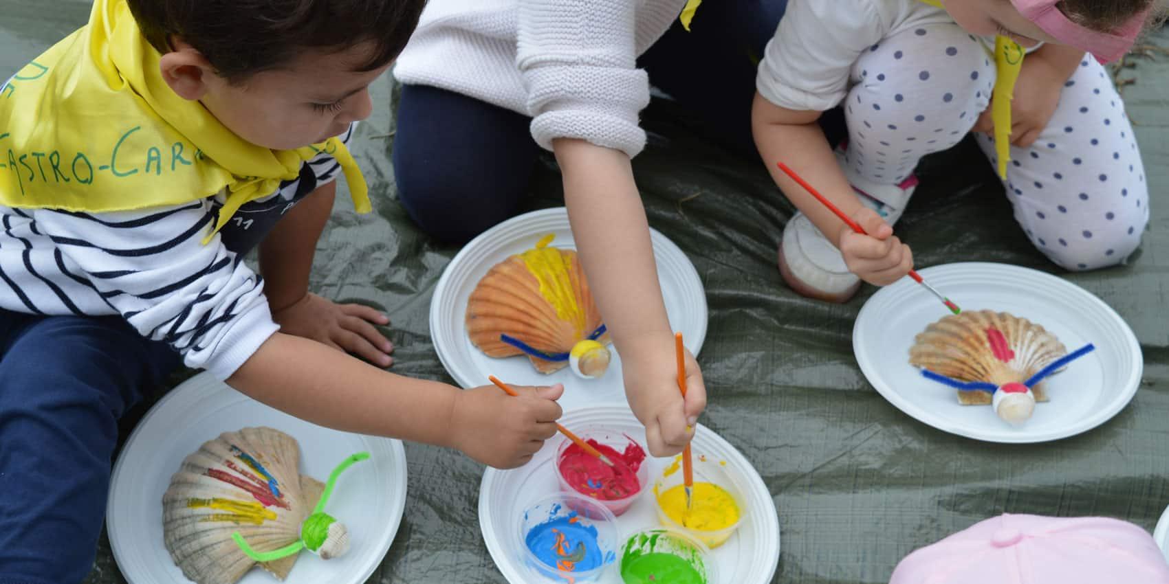 Actividades en grupo para niños