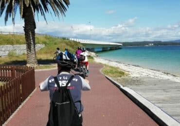 Paseo en Bicileta Illa de Arousa