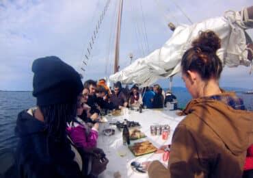 Paseo en velero Galicia