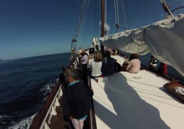 Rutas en velero Rías Baixas
