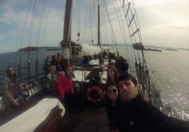 Alquilar velero en Galicia