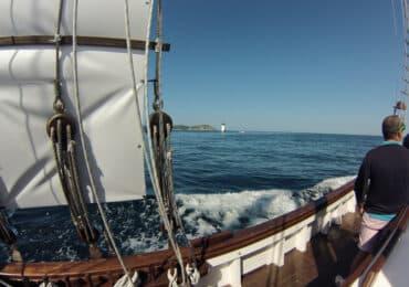 Ruta en velero Rías Baixas