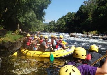 Rafting para grupos en Galicia