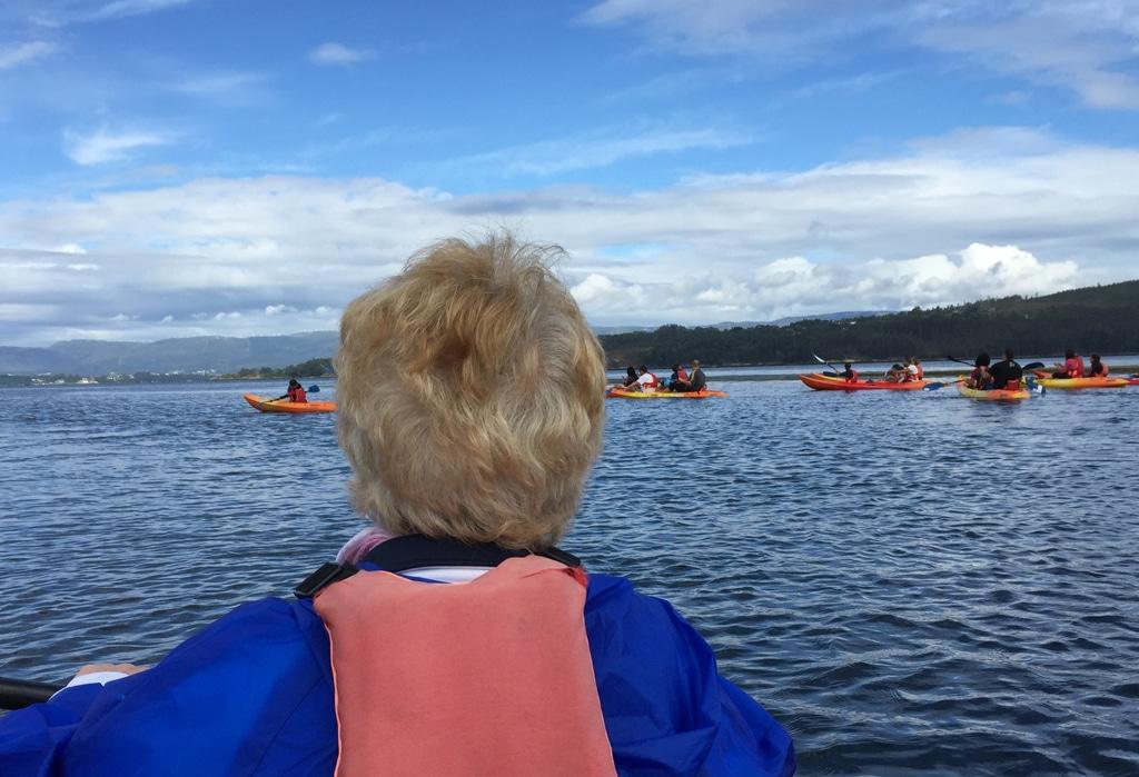 Las rutas en kayak son una de nuestras actividades más demandadas en A Ría de Arousa .