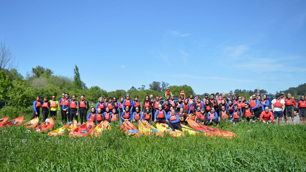 Descenso del río Umia