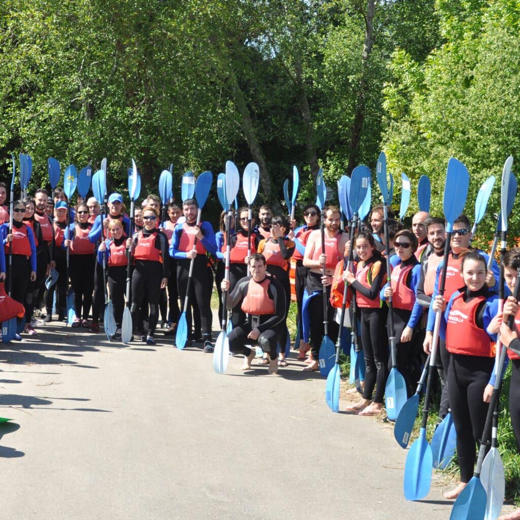 Descenso río en kayak