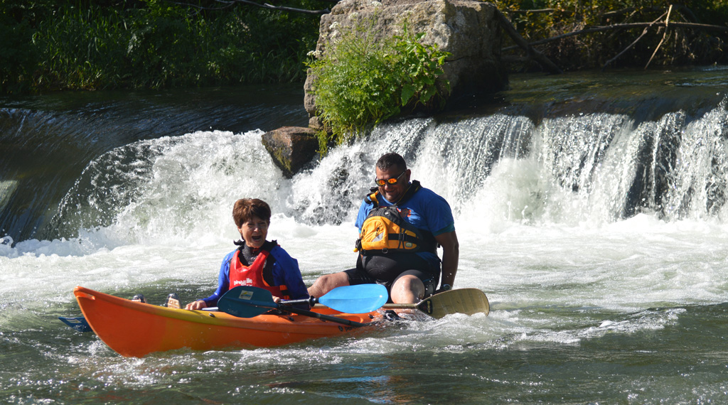 Descenso en kayak río Umia