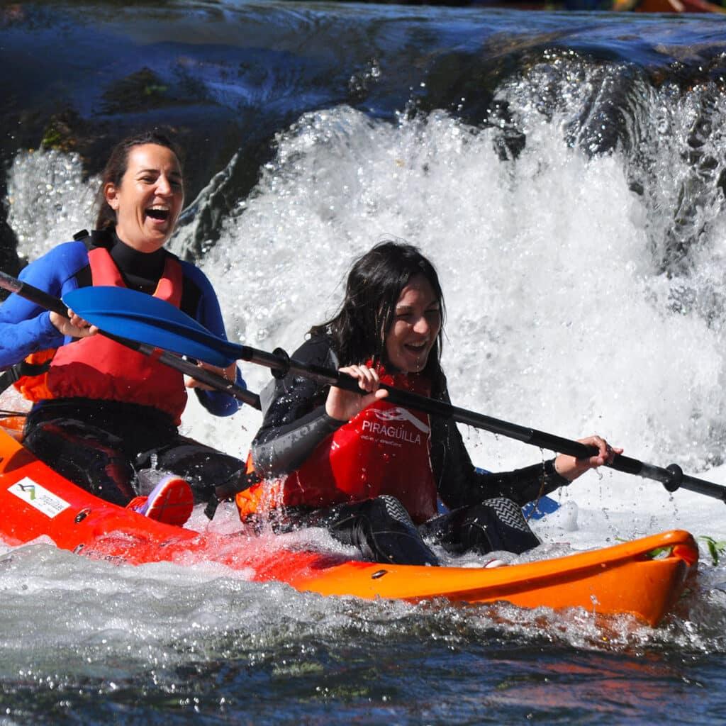 Kayak de río Galicia