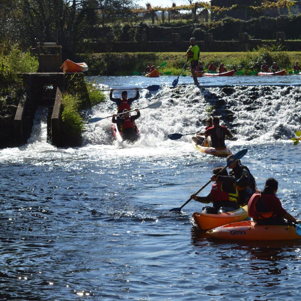 Descenso en kayak Pontevedra