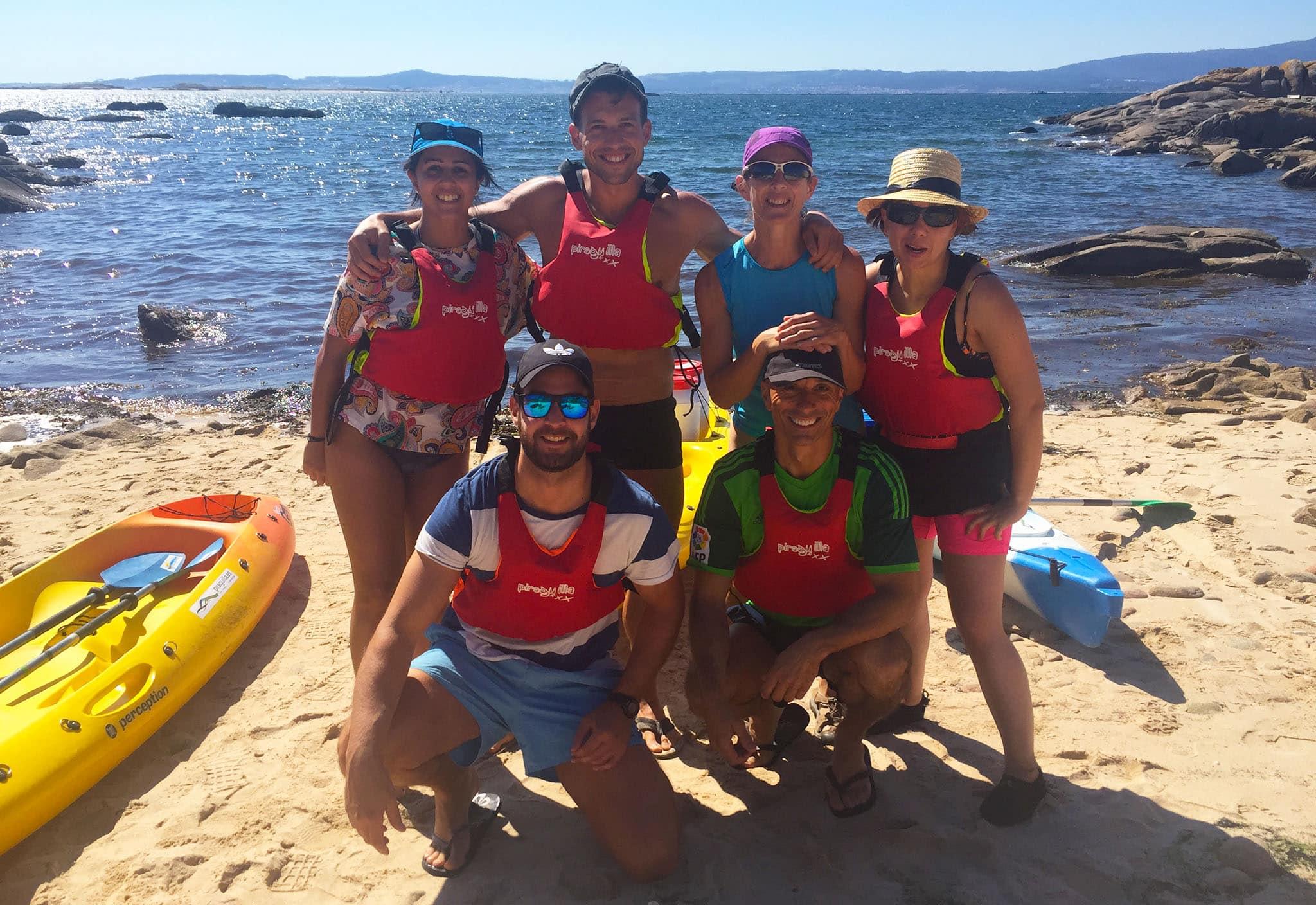 Actividades con amigos Rías Baixas