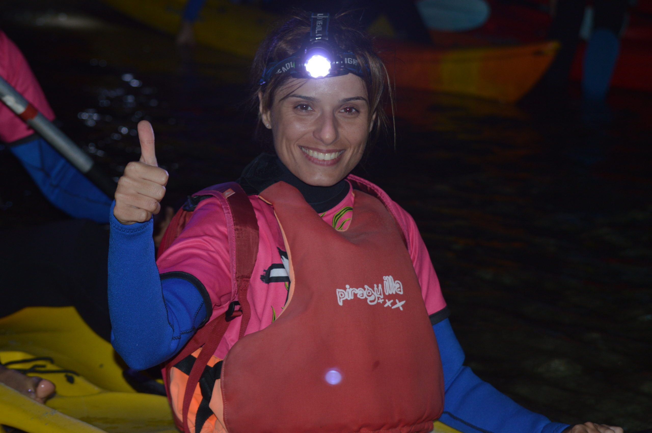 Kayak nocturno