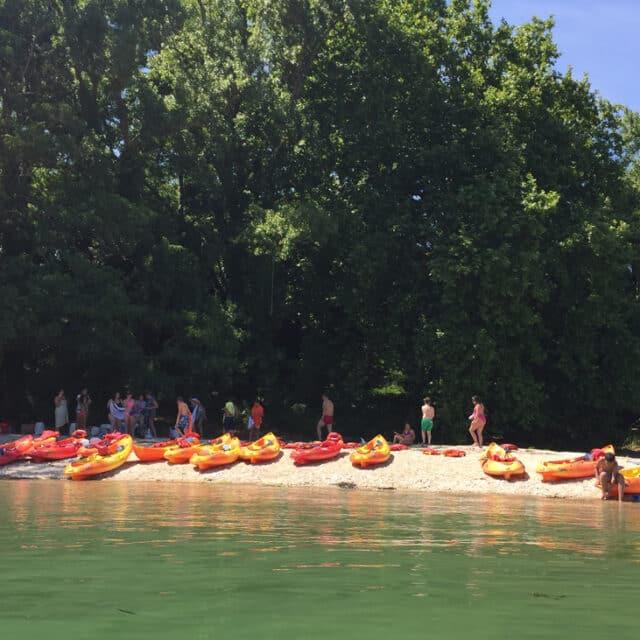 visitar isla de Cortegada en kayak