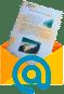 Formato de regalo pergamino enviado por email. Piragüilla